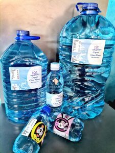 Crystal Clear Bar Water Holdings